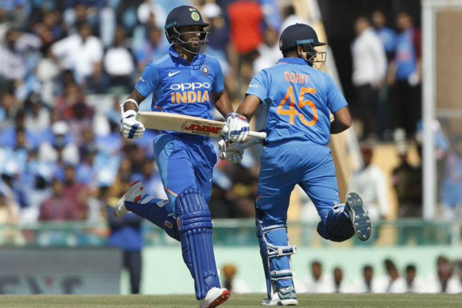 India Vs Australia Cricketing Fraternity Hails Shikhar Dhawan Rohit Sharma Record Opening Stand