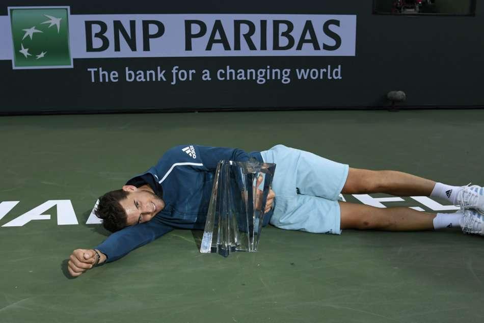 Dominic Thiem Beats Roger Federer Indian Wells Masters