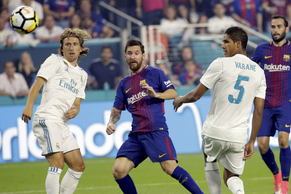 With Barcelona ahead of Real Madrid in the standings, the onus will be on the home side to breathe life into the title race in the El Clasico.