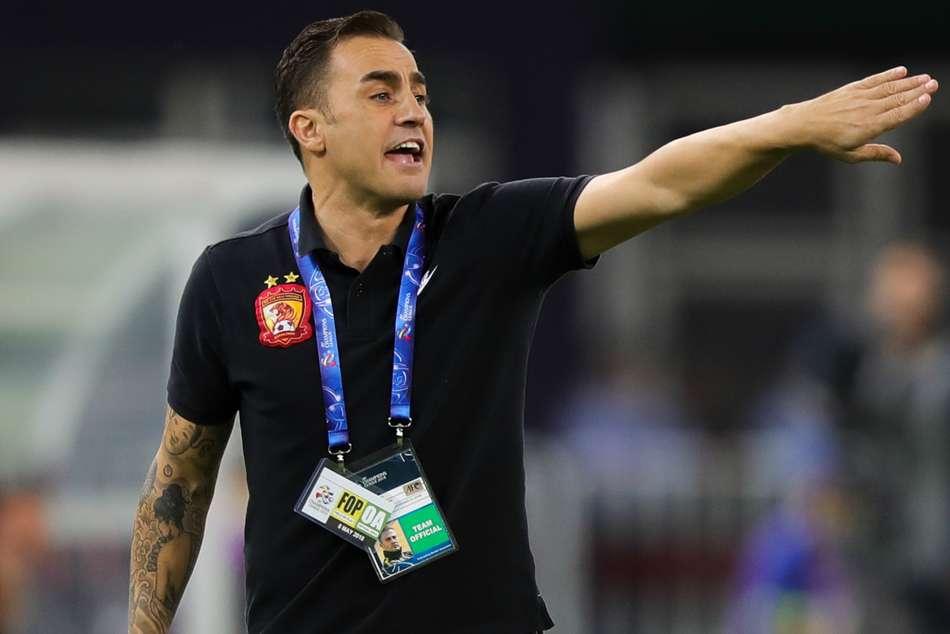 Cannavaro Lippi China Head Coach Csl