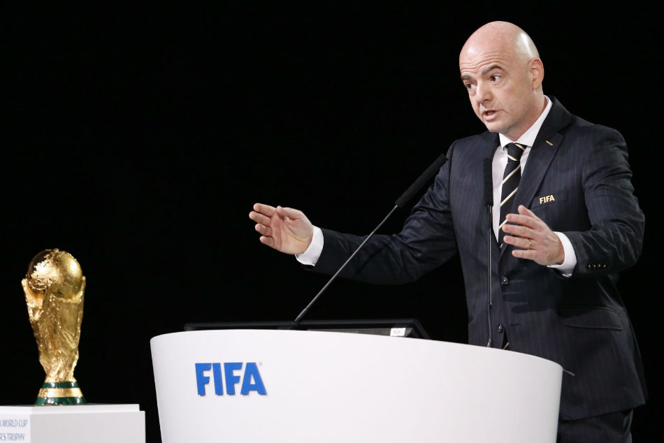 FIFA president Gianni Infantino wants to increase the number of teams due to take part in the footballing showpiece from 32 to 48
