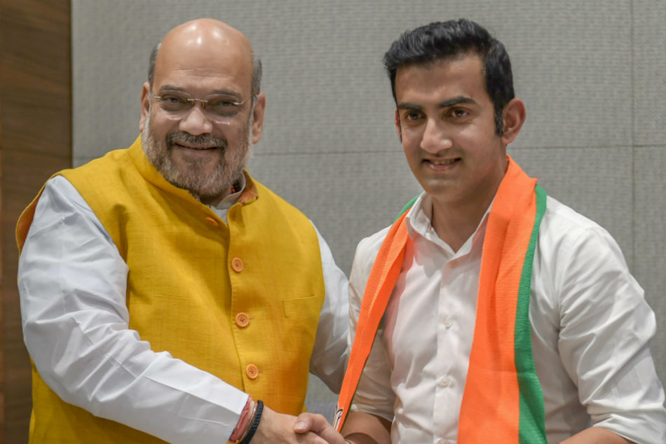 New Innings Former India Cricketer Gautam Gambhir Joins Bjp