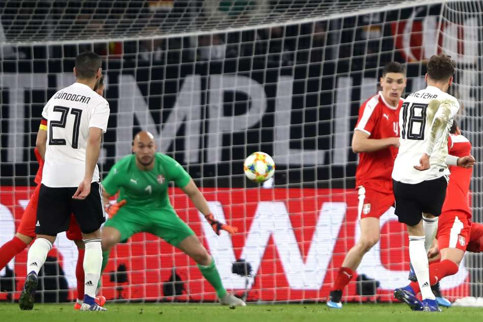 Germany Serbia International Friendly Match Report Leon Goretzka