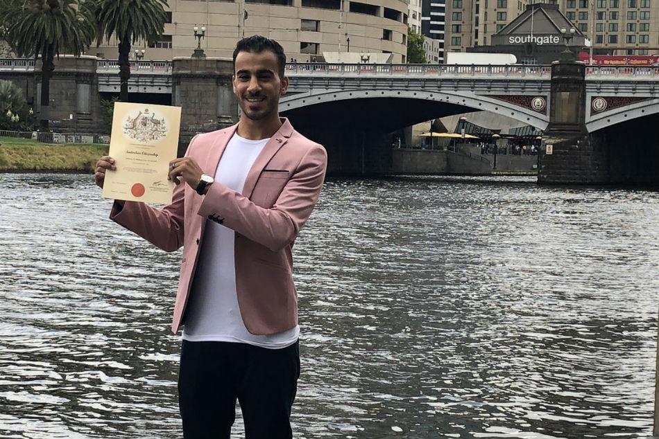 Refugee Footballer Hakeem Al Araibi Becomes Australian Citiz