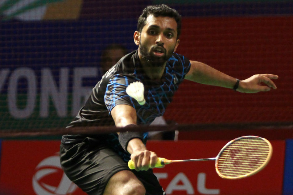Hs Prannoy Riya Mookerjee Cause Upsets At Yonex Sunrise India Open 2019