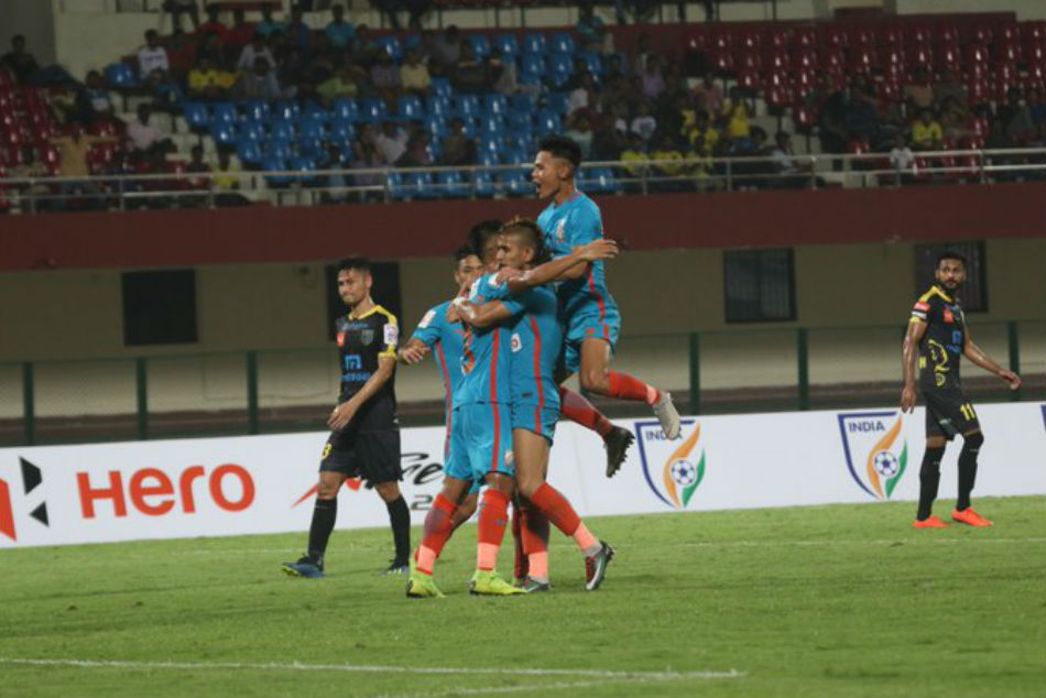 Arrows Stun Kerala Blasters 2 0 Qualify Super Cup Main Tournament