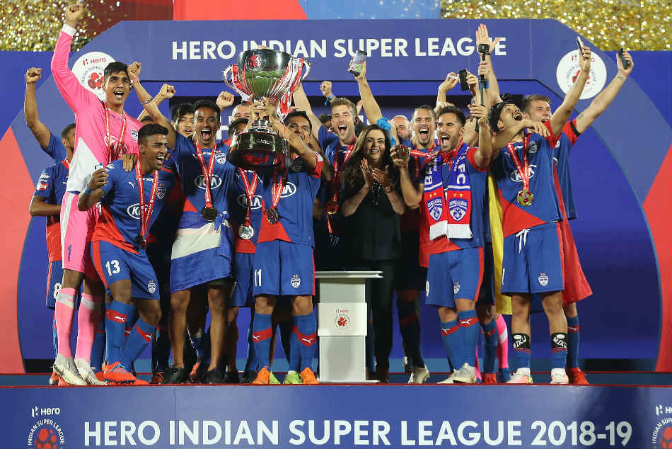 Isl Final Bfc Vs Fcg Bheke The Hero As Bengaluru Fc Crowned New Indian Super League Champions