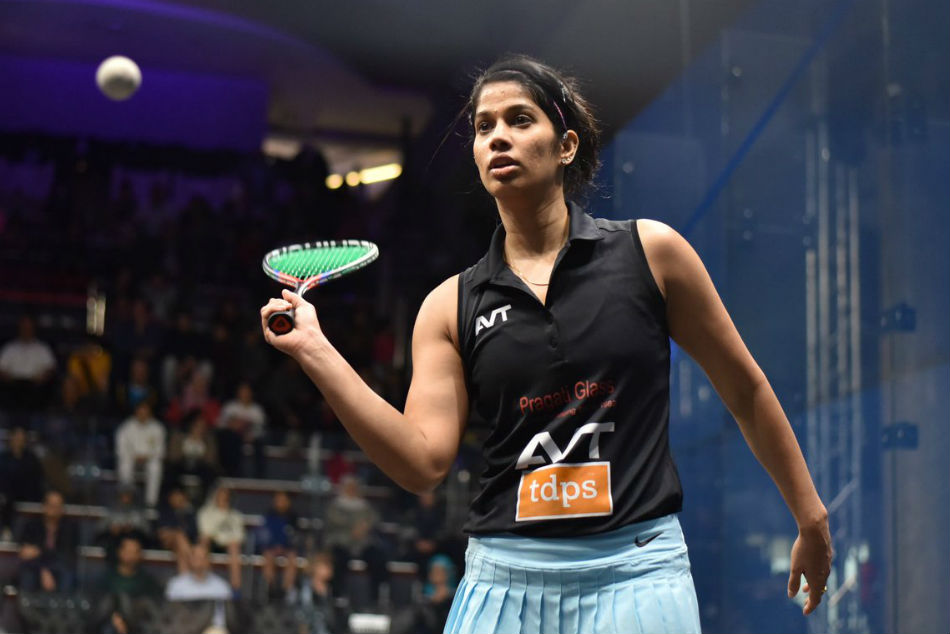 Joshna Chinappa Storms Into Quarterfinals Black Ball Open