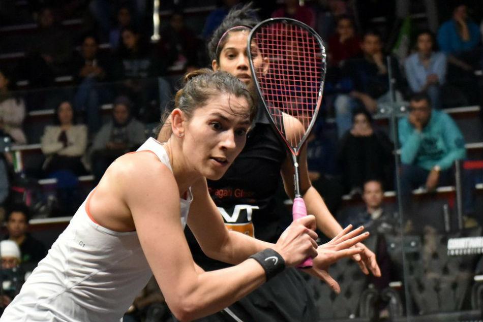 Joshna Chinappa Goes Down Fighting Black Ball Open Squash Qu