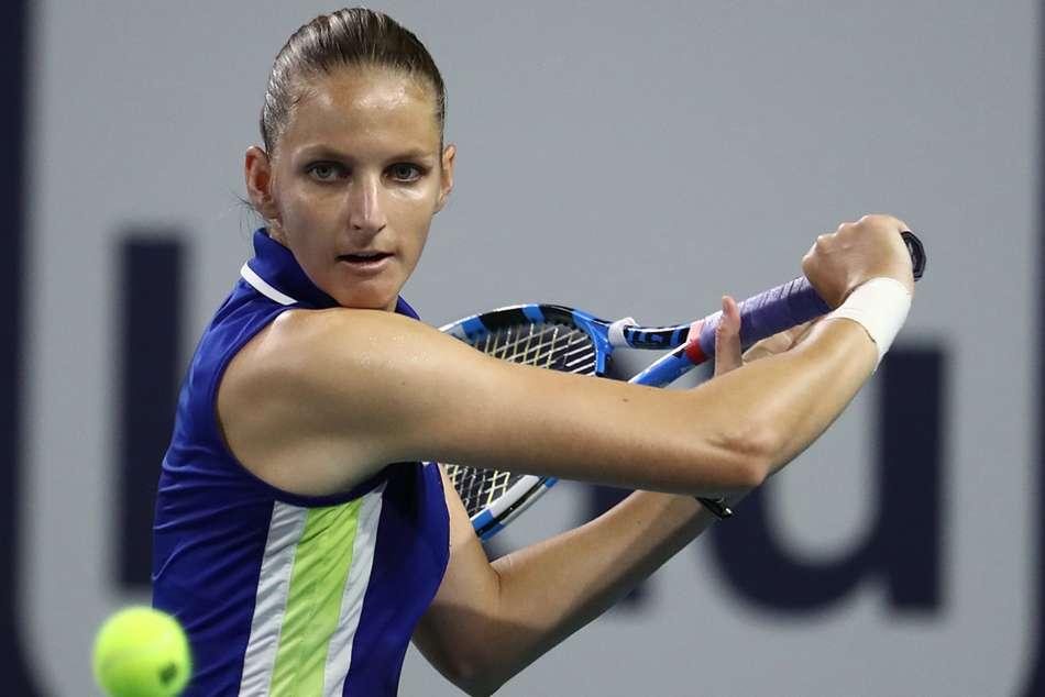 Karolina Pliskova Miami Open Final Halep