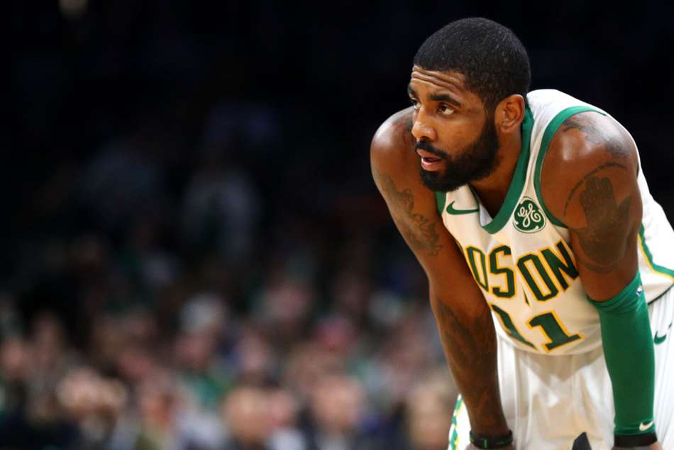 Boston Celtics star Kyrie Irving