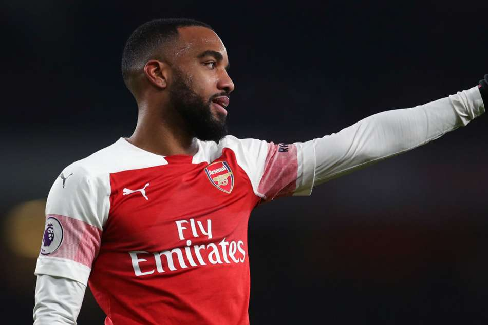 Unai Emery Arsenal Rennes Alexandre Lacazette Europa League