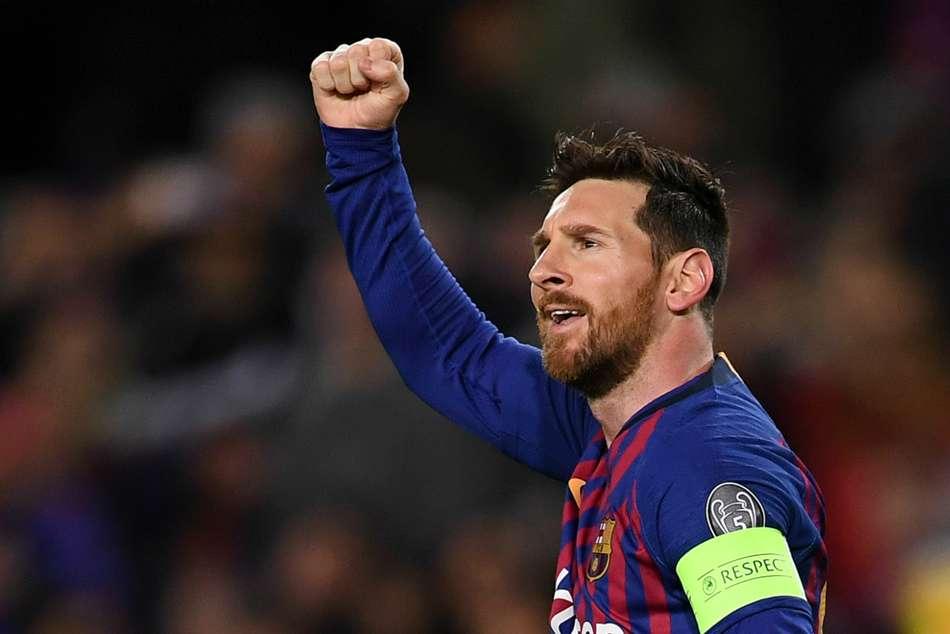 Barcelona 5 Lyon 1 5 1 Agg Messi Shines Champions League Match Report