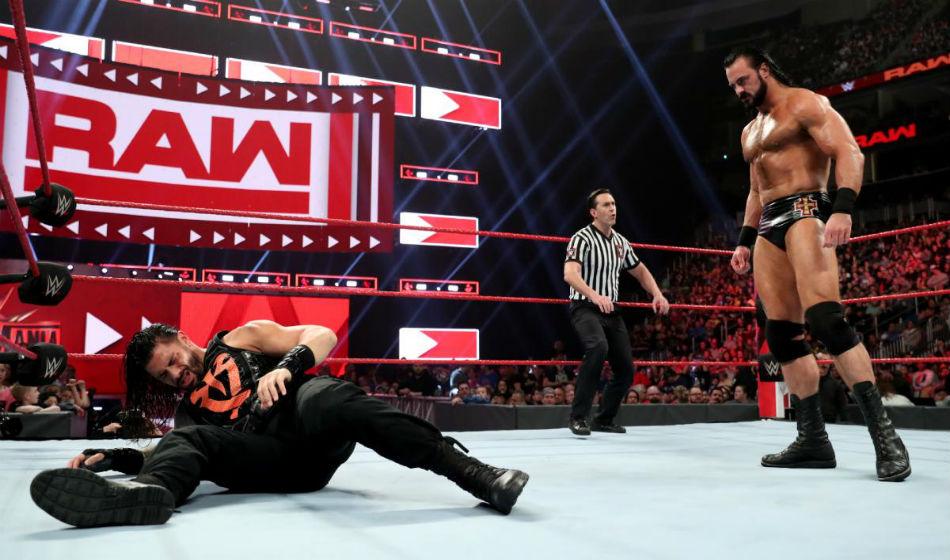 Roman Reigns Miss Next Week S Wwe Raw