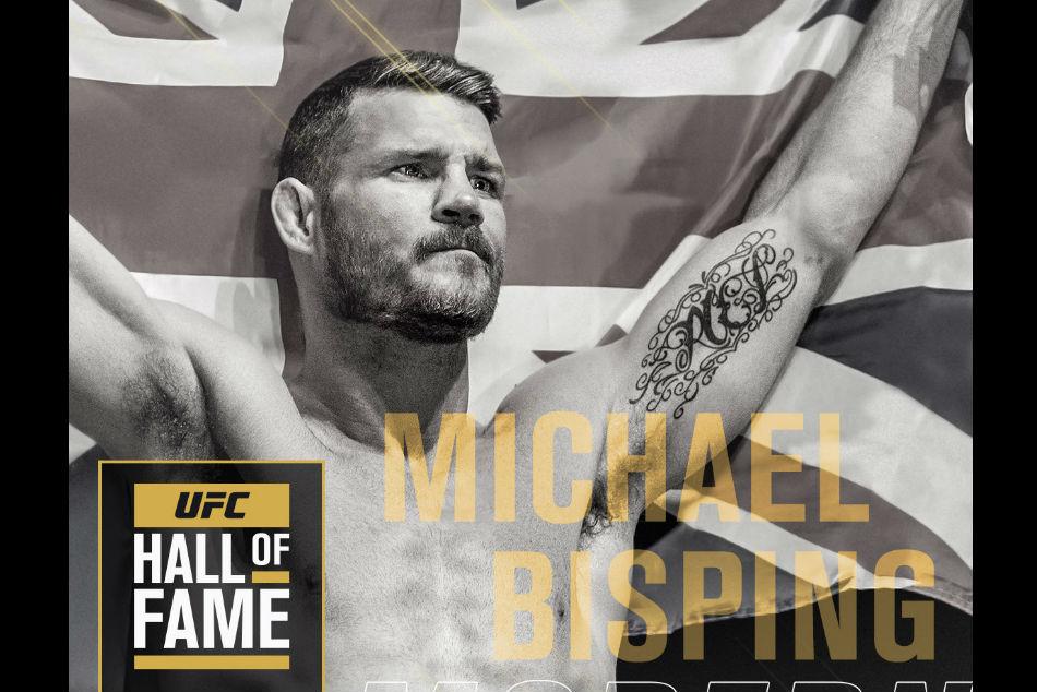 Michael Bisping Headline Ufc Hall Fame Class 2019
