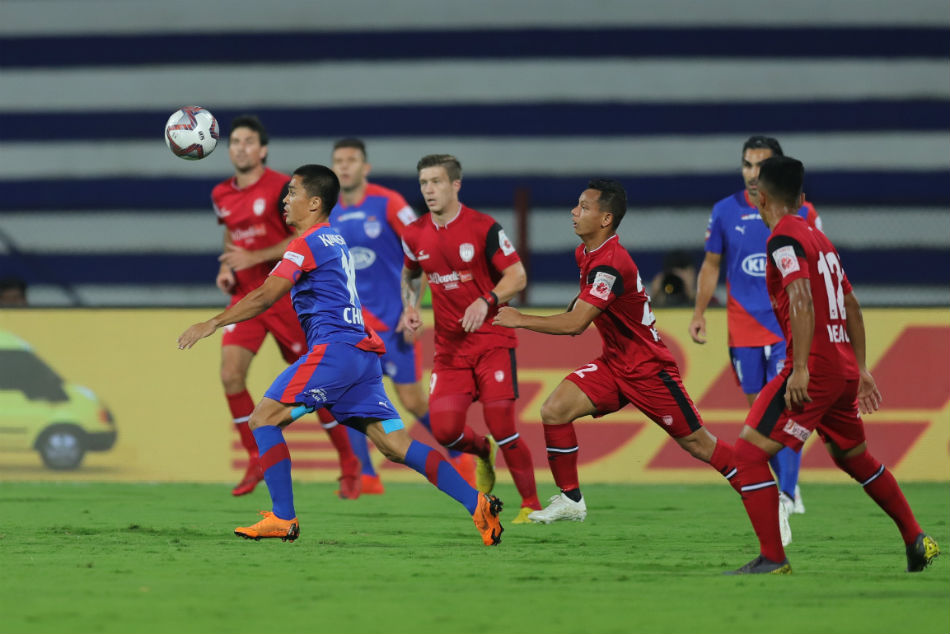 Isl Bfc 3 Neufc 0 Bengaluru Fc Leave It Late Break Northeast United Hearts