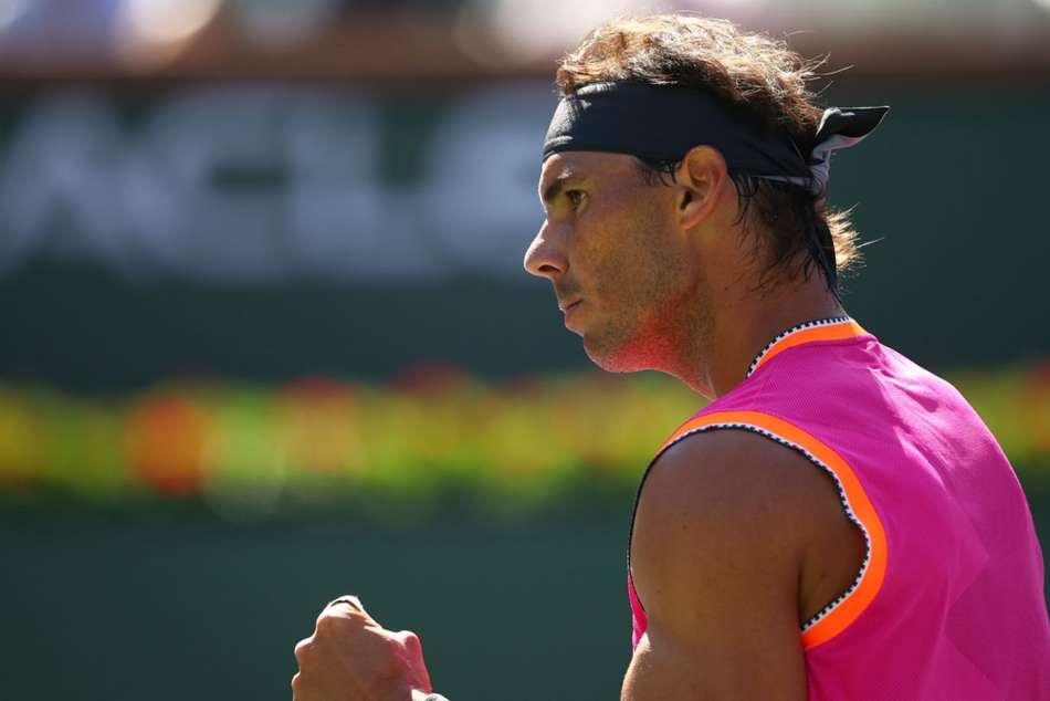 Rafael Nadal Beats Diego Schwartzman Indian Wells Masters