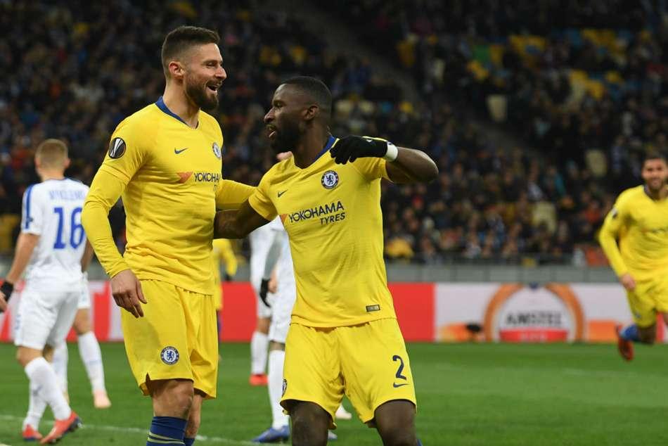 Dynamo Kiev Chelsea Match Report Europa League Olivier Giroud
