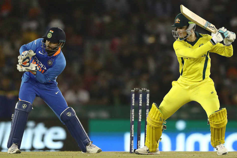 India Vs Australia 4th Odi As It Happened Handscomb Turner Power Aussies To Win Mohali Odi