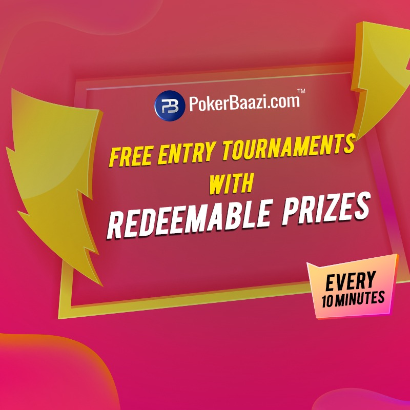 Pokerbaazi Launches Free Entry Poker Tournaments For Beginners