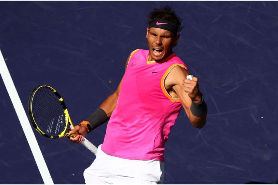 Rafael Nadal Karen Khachanov Indian Wells Masters Atp Federer Semi