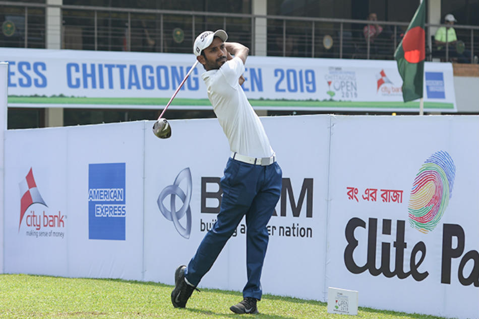 Chittagong Open Rashid Khan Powers Ahead With 66 Round Two