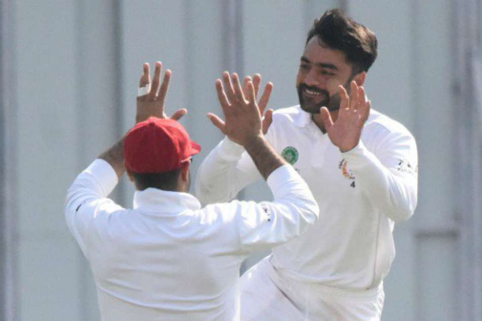 Afghanistan On Course Victory After Rashid S Five Wicket Haul