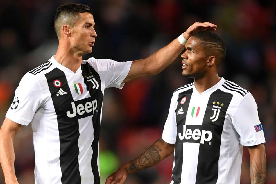 Juventus winger Douglas Costa heaped praise on team-mate Cristiano Ronaldo following his initial concerns.