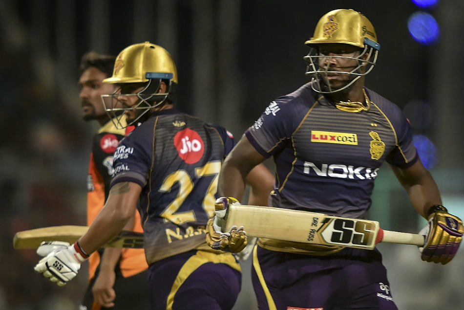 Ipl 2019 Kkr Vs Srh Russell Steal Thunder From Warner Leads Kkr Dramatic Win