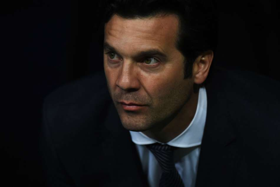 Real Madrid head coach Santiago Solari
