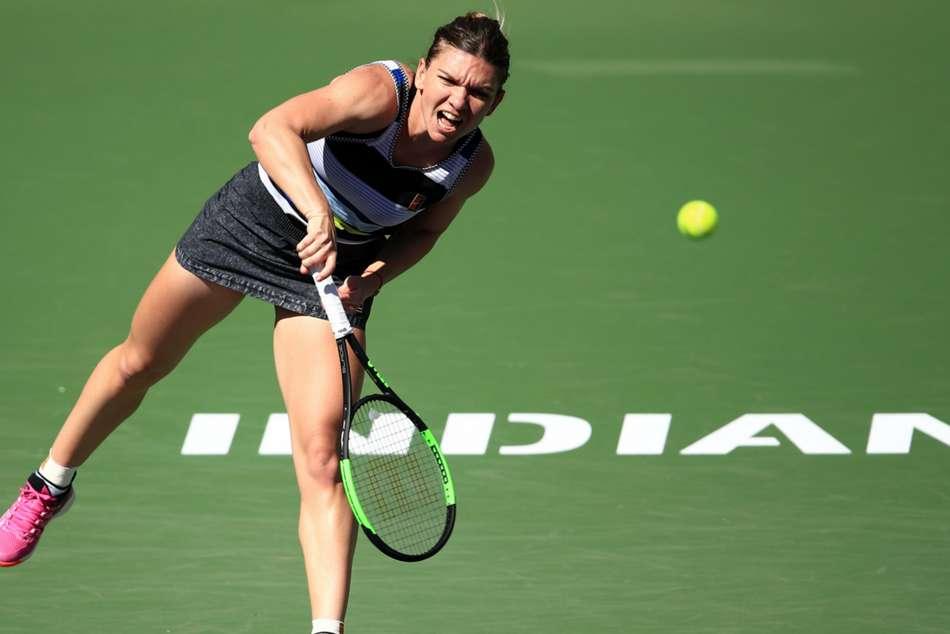 Halep Osaka Indian Wells Open