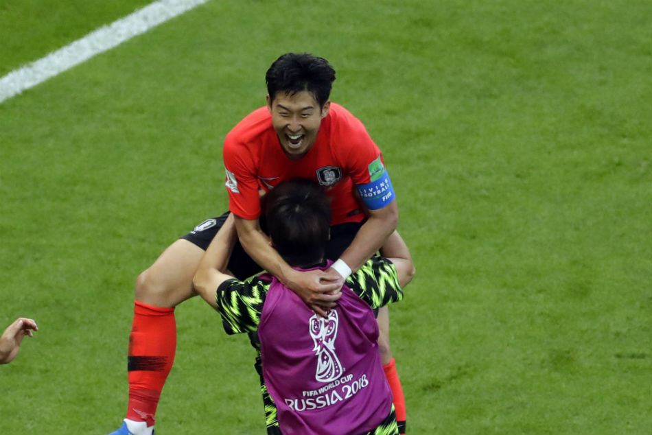 Son Rises For Korea As They Beat Colombia