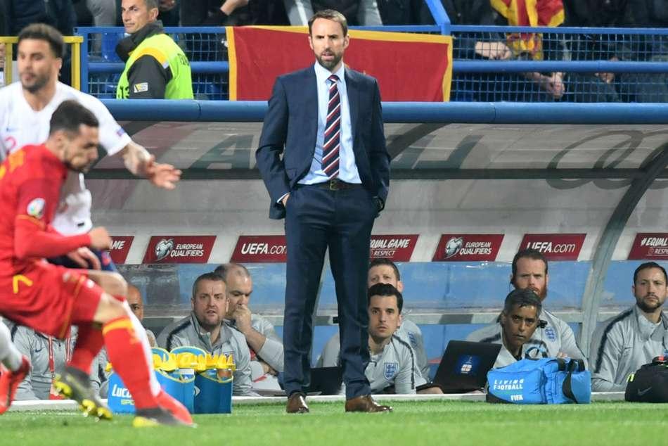 Gareth Southgate England Montenegro Racist Chants Danny Rose