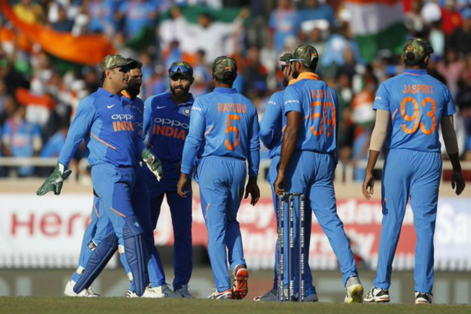 India Was Granted Permission Wear Camouflage Caps Memory Fallen Soldiers Icc