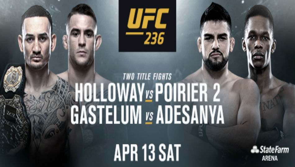 Two pivotal title fights to headline UFC 236