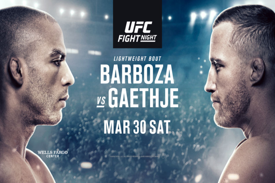 Ufc On Espn 2 Barboza Vs Gaethje Fight Card And Schedule