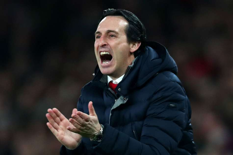 Unai Emery Arsenal Manchester United Rennes