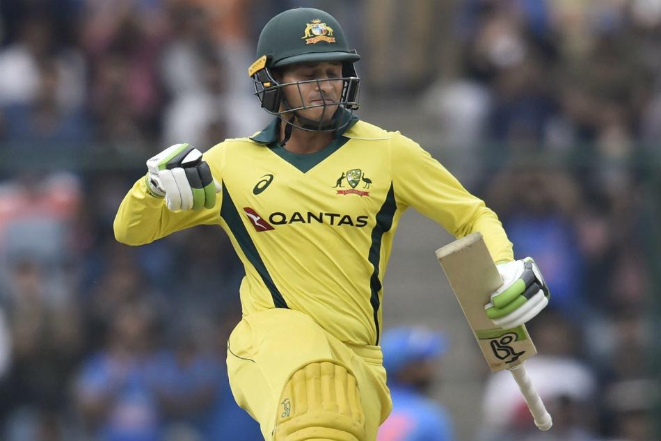 India Vs Australia 5th Odi Usman Khawaja Bowlers Guide Australia To Series Win