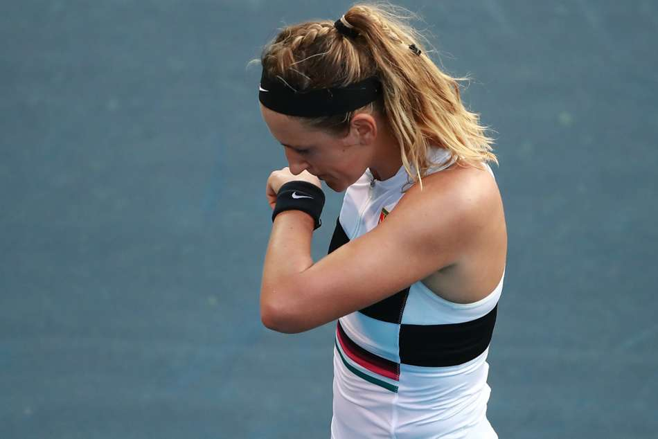 Victoria Azarenka Falls Andreescu Saves Match Point Miami Open Wta