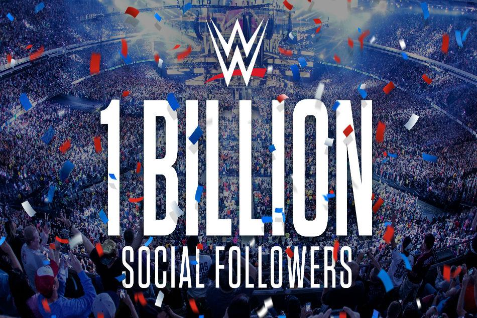 Wwe Surpasses One Billion Social Media Followers
