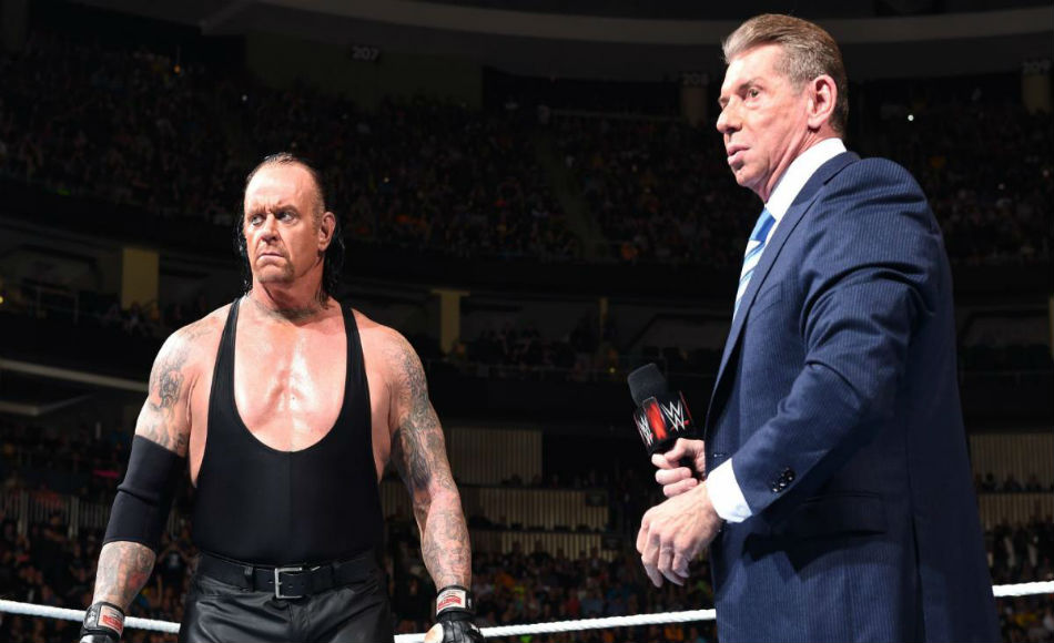 Wwe Rumour Vince Mcmahon Unhappy With The Undertaker