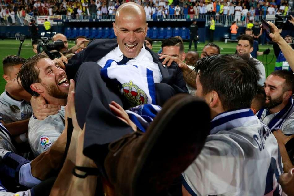 Zinedine Zidane Real Madrid Return Most Successful Coaches In Club History Laliga News
