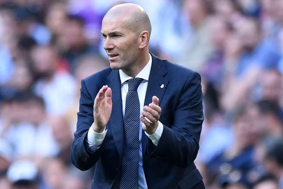 Zinedine Zidane Real Madrid Casemiro