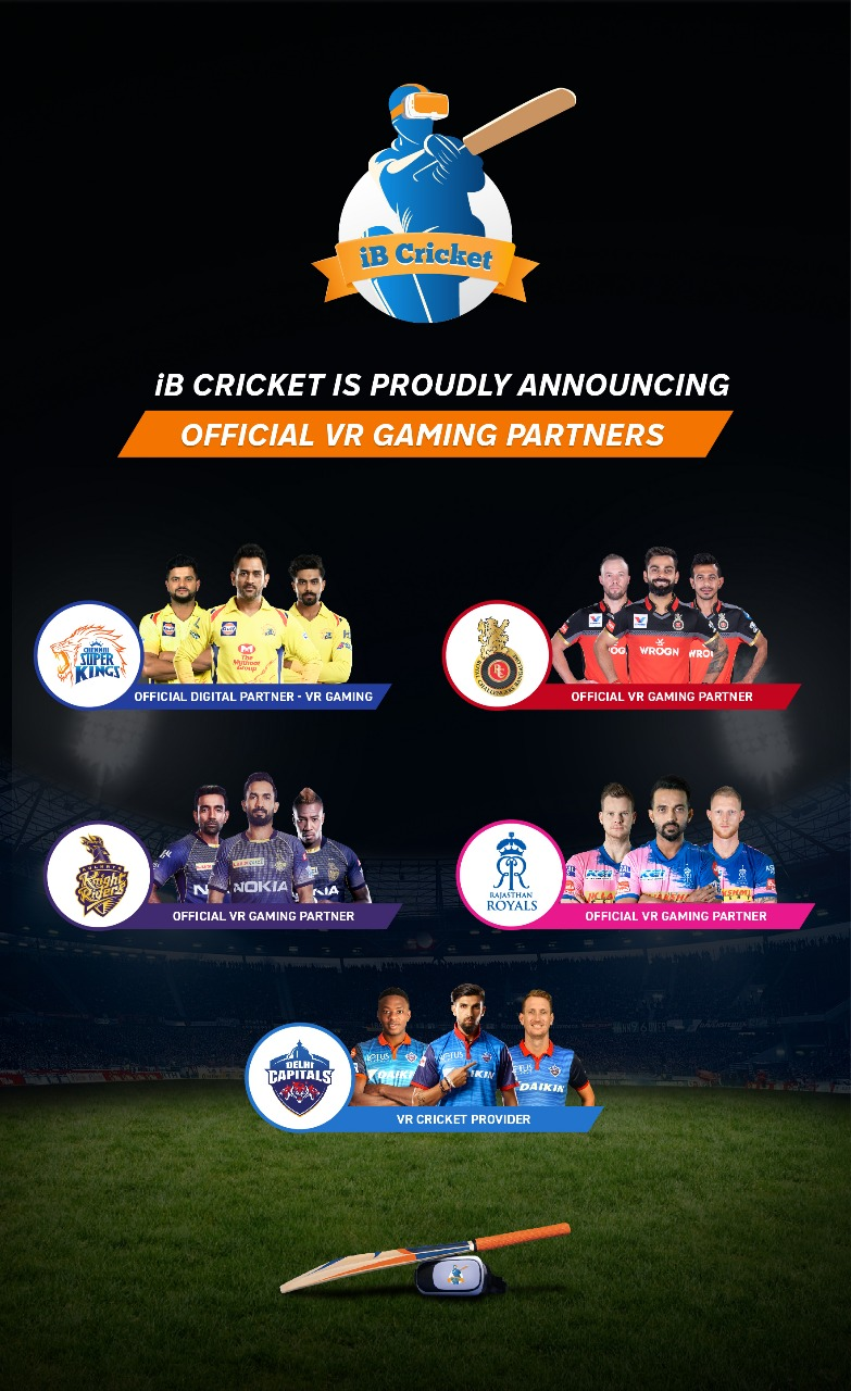 iB Cricket partners with 5 IPL teams