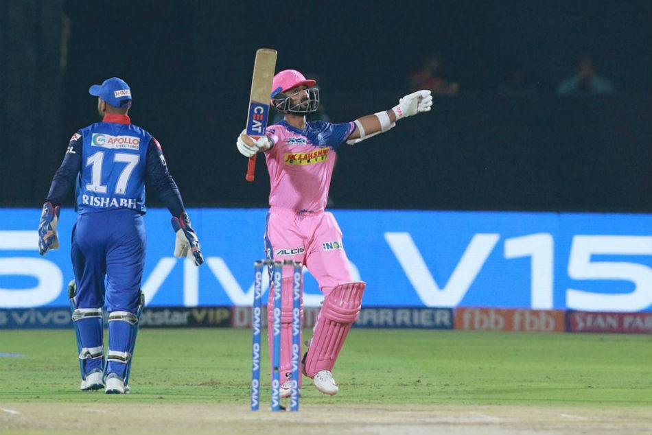 IPL 2019: Cricketers, fans hail Ajinkya Rahane as he slams 58-ball century against Delhi Capitals