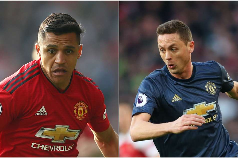 Alexis Sanchez Nemanja Matic Named In Manchester United Squad For Barcelona Clash Champions League
