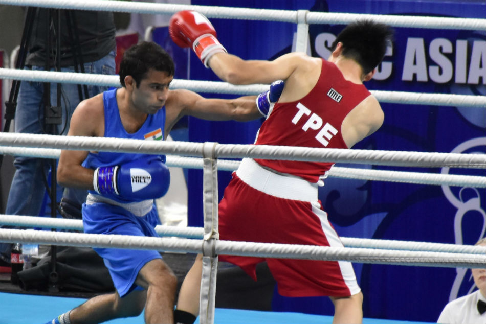 Asian Boxing Championships 2019 Shiva Thapa Sarita Amit Lead 5 Indian Boxers Into Quarter Finals
