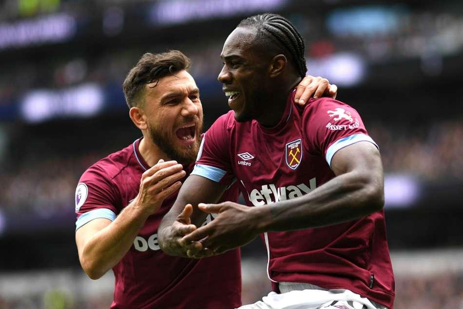 Tottenham 0 West Ham 1 Antonio Strikes As Spurs Slip In Top Four Race