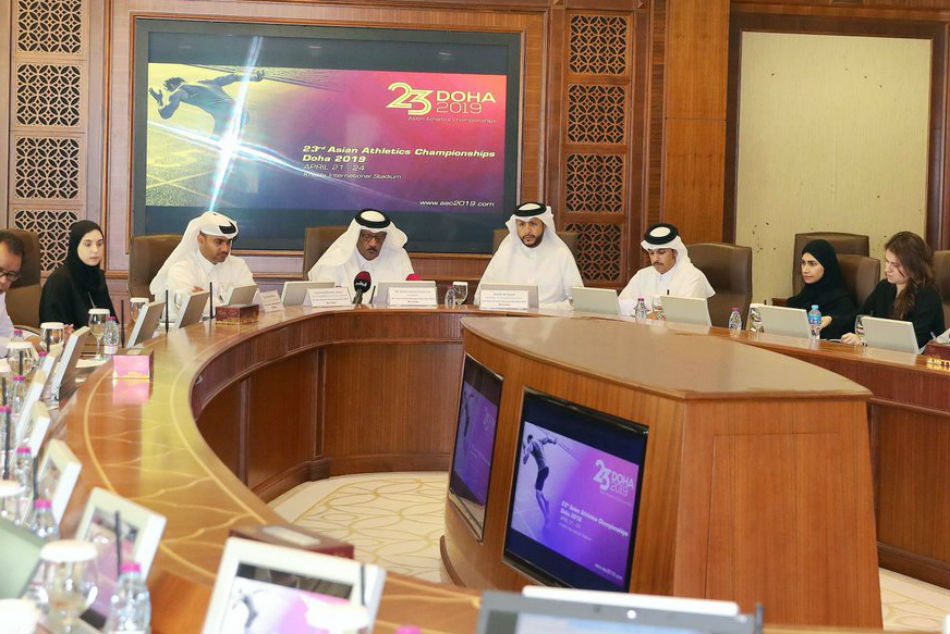 Stage Set For Asian Athletics Championships In Doha