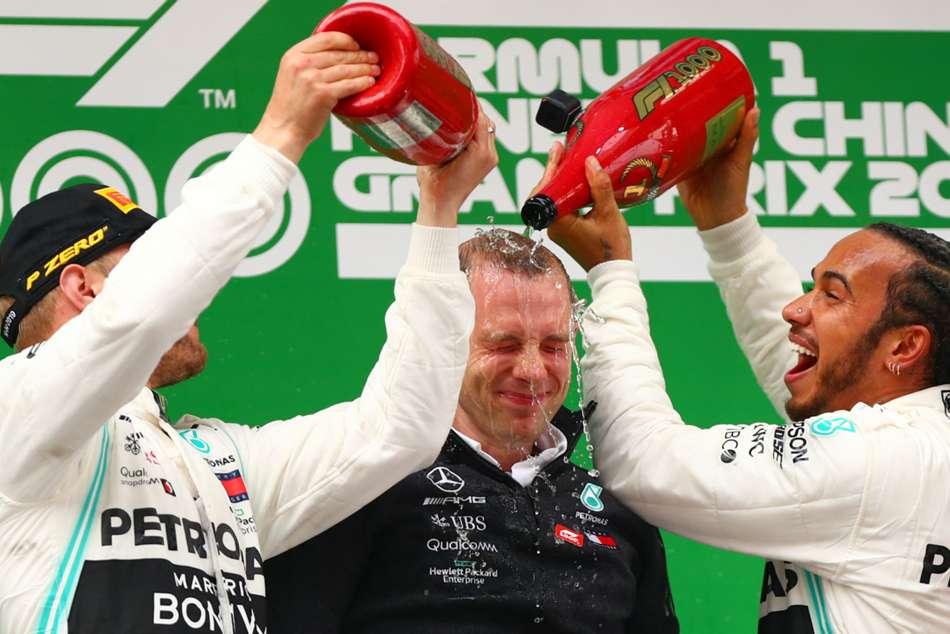 Azerbaijan Grand Prix F1 Opta Numbers Lewis Hamilton Valtteri Bottas Mercedes One Two